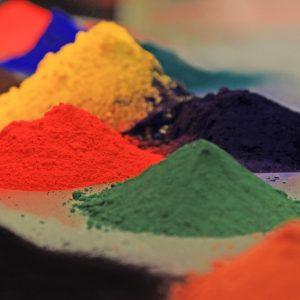 Malowanie proszkowe - farba w proszku