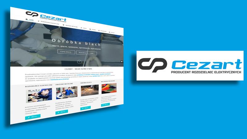 Nowa strona i nowe logo firmy Cezart